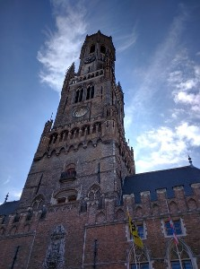 The Belfry tower, Bruges, Belgium - Taken by me on our 2016 family vacation
