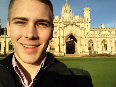 Saint John's Collage, Cambridge, UK, I accompanied my sister to her Cambridge admission tests in December, 2015